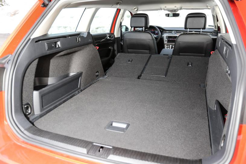 Volkswagen Passat Allroad. Bagażnik /INTERIA.PL
