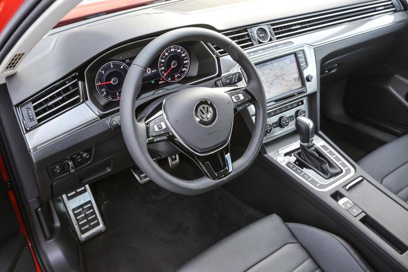 Volkswagen Passat Allroad. Kokpit /INTERIA.PL