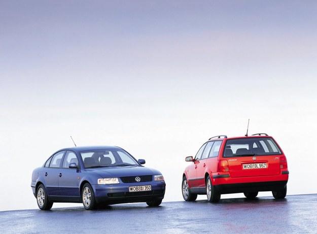 Volkswagen Passat B5 1.8T - powstaje jeden z oszczędniejszych silników turbo. 1.8 – 150 KM. /Volkswagen