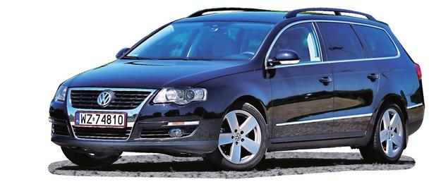 VOLKSWAGEN PASSAT B6 (2005-2010), polecane wersje: 1.9 TDI, 2.0 TDI CR, 1.8 TSI. /Motor