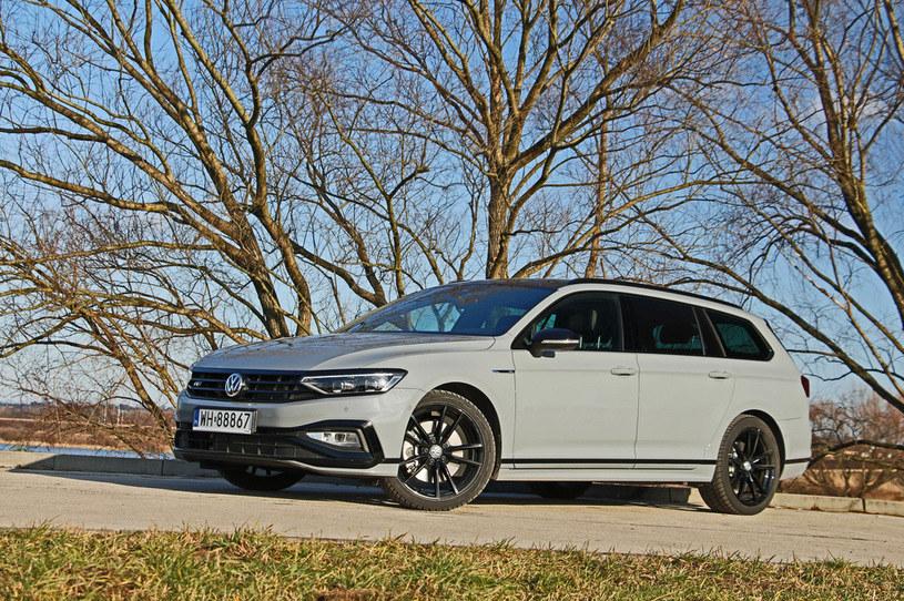 Volkswagen Passat Variant 2.0 TDI R-Line Edition /Jacek Jurecki /INTERIA.PL