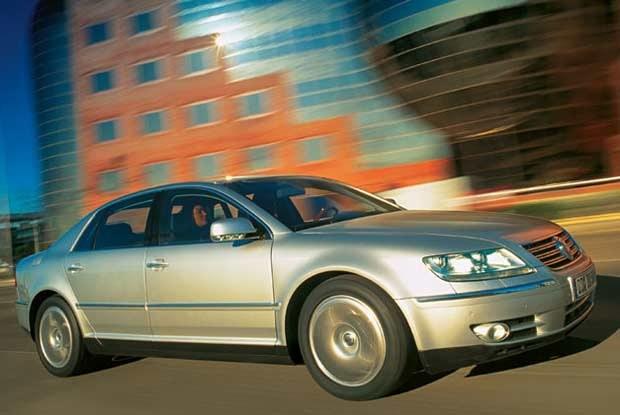Volkswagen Phaeton (kliknij) /INTERIA.PL