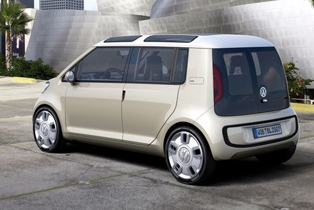 Volkswagen space up blue / Kliknij /INTERIA.PL