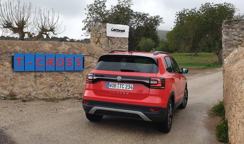 Volkswagen T-Cross /INTERIA.PL