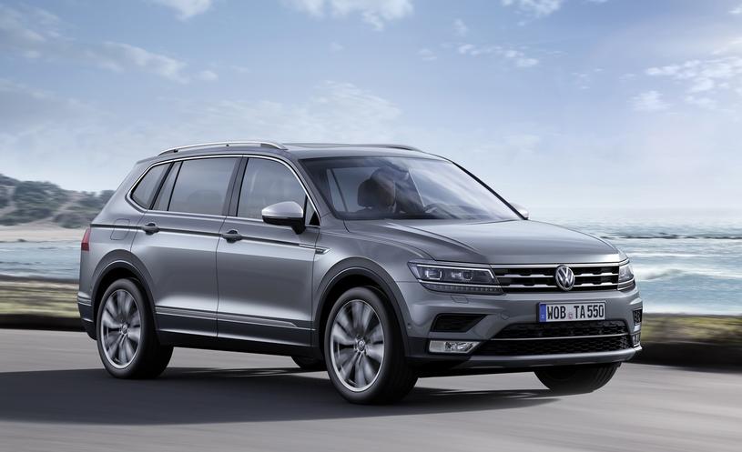 Volkswagen Tiguan Allspace - najnowszy model z przekładnią DSG /