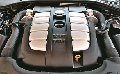 Volkswagen Touareg silnik /Motor