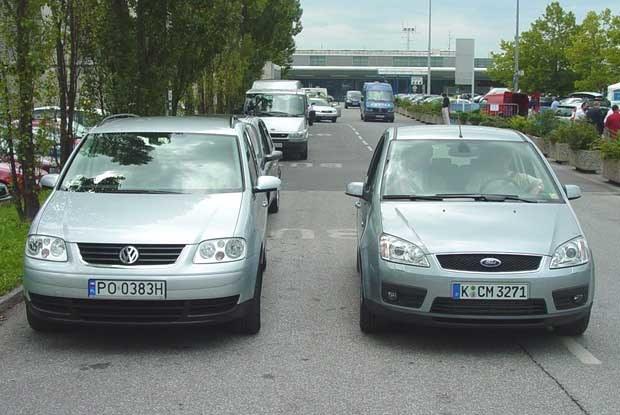 Volkswagen touran i Ford C=-max / kliknij /INTERIA.PL
