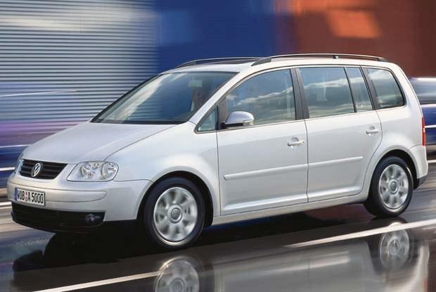 Volkswagen Touran (kliknij) /INTERIA.PL
