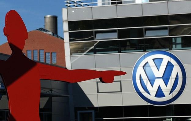 Volkswagen znalazł się na celowniku... /AFP