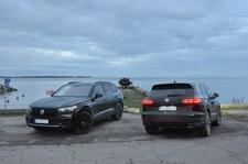 00099F5JCHFQFYKY-C307 Volkswageny w jesiennej scenerii wybrzeża Zatoki Fińskiej