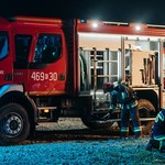 Volvo dziękuje polskim strażakom za pomoc w gaszeniu pożarów w Szwecji