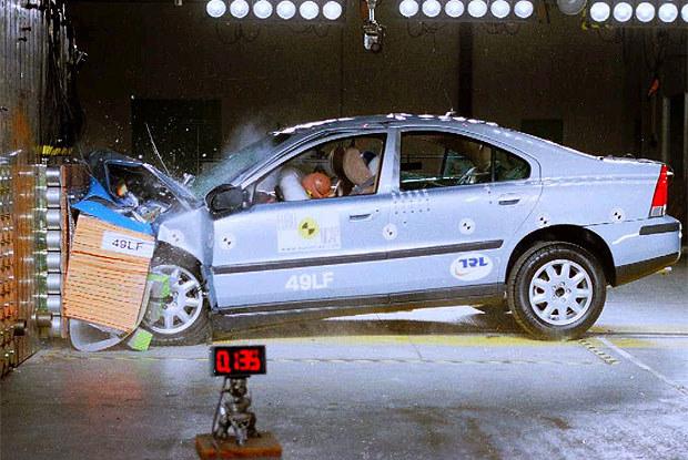 Volvo przywiązuje bardzo dużą wagę do tematu bezpieczeństwa w samochodach (kliknij) /INTERIA.PL