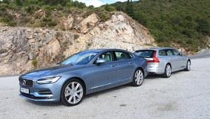 Volvo S90 i V90 - pierwsza jazda