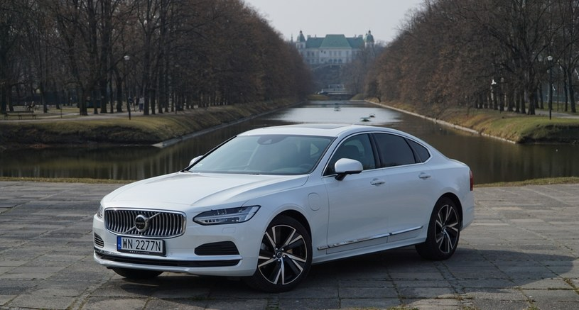 Volvo S90 T8 Recharge Inscription /INTERIA.PL
