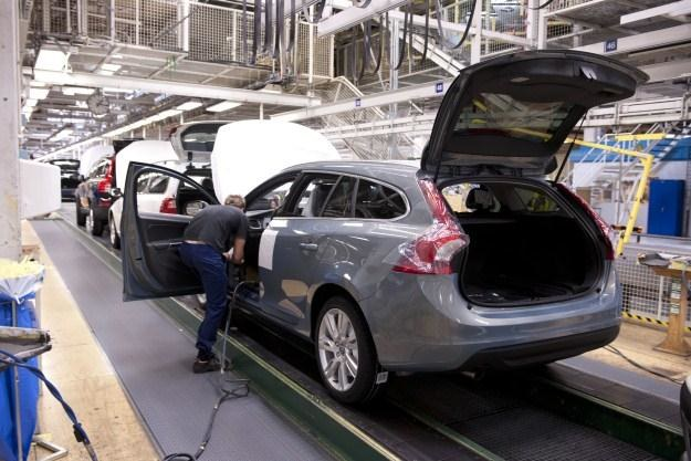 Volvo wstrzymuje produkcję /