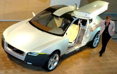 Volvo Your Concept Car /AFP