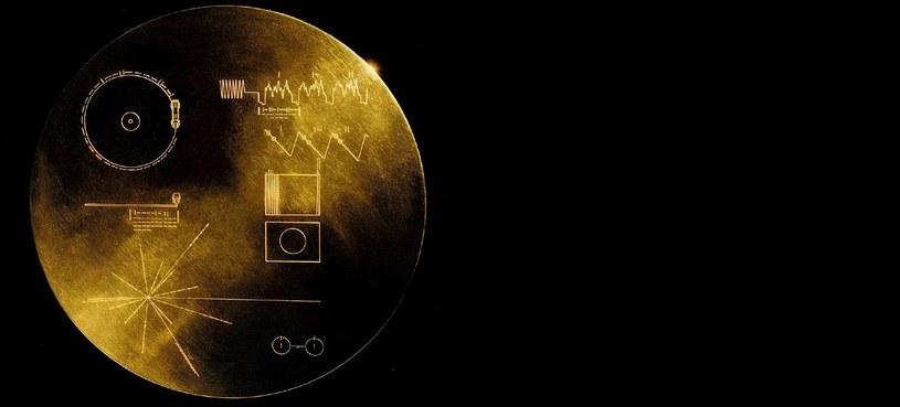 Voyager Golden Record – pozłacany dysk umieszczony w sondach misji Voyager /NASA