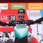 Vuelta a Espana. Dyskwalifikacja Bennetta, Ackermann zwycięzcą etapu