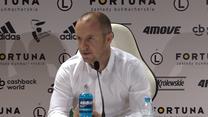 Vuković o powrocie z Finlandii: Pod tym względem topowym klubem. Wideo