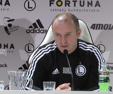 Vuković: Rolą Legii jest, aby grywać regularnie w takich klasykach jak Legia-Lech. Wideo