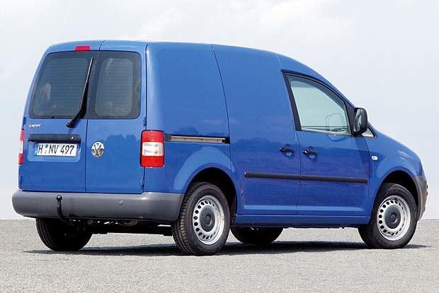 VW Caddy (kliknij) /INTERIA.PL