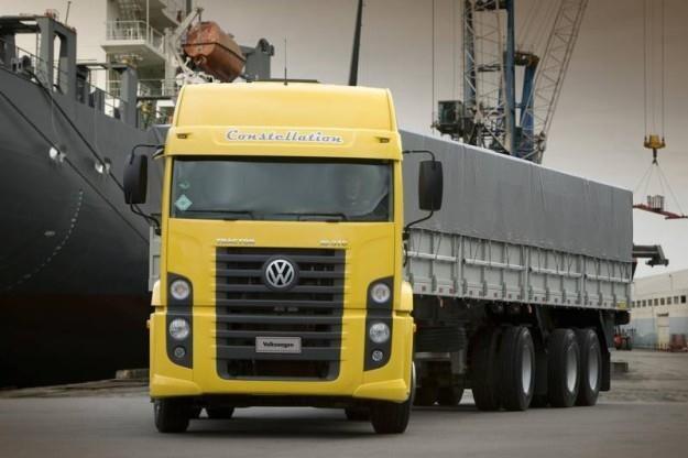 Vw constellation to cieżarówka produkowana w Brazylii /
