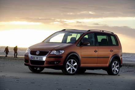 VW crosstouran / Kliknij /INTERIA.PL
