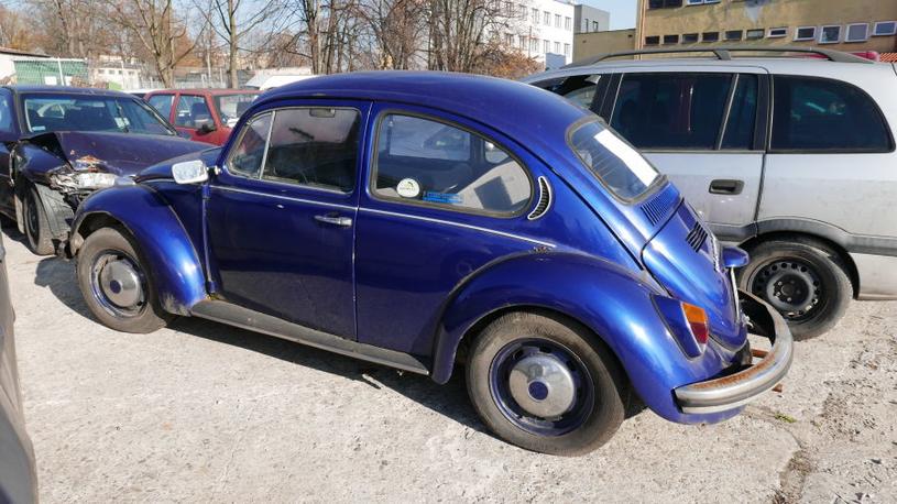 VW Garbus z 1970 roku. Cena 3650 zł / Fot: Zarząd Dróg Miasta Krakowa /