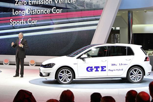 VW Golf GTE /
