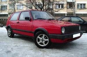VW golf II / kliknij /INTERIA.PL