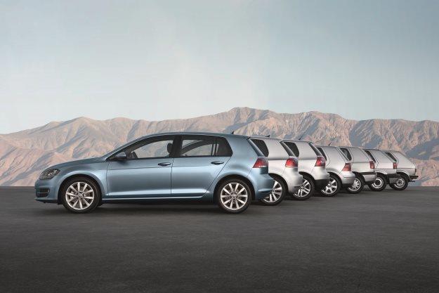 VW Golf ma 40 lat /