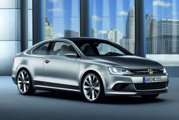 VW new compact coupe concept /