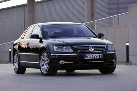 VW pheaton / Kliknij /INTERIA.PL