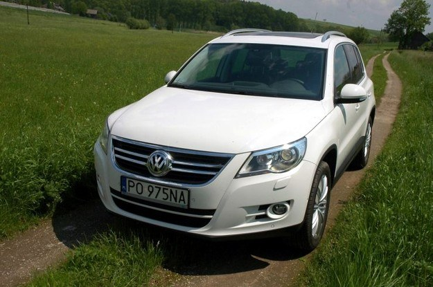 VW tiguan /INTERIA.PL