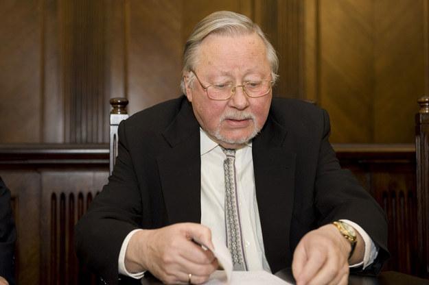 Vytautas Landsbergis: Litwini wciąż podejrzliwie patrzą na Polskę /Piotr Lampkowski /Reporter