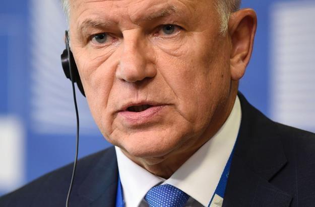 Vytenis Andriukaitis, unijny komisarz ds. zdrowia i bezpieczeństwa żywności /AFP