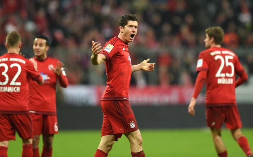 W 1/8 finału Ligi Mistrzów Roberta Lewandowskiego czeka ciężkie przetarcie /AFP