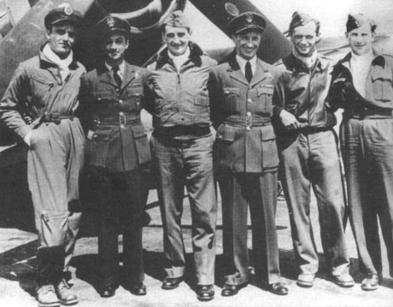 """W 1944 roku """"Gabby"""" przygarnął do swojego dywizjonu polskich pilotów, którzy zostali zawieszeni w PSP /Getty Images/Flash Press Media"""
