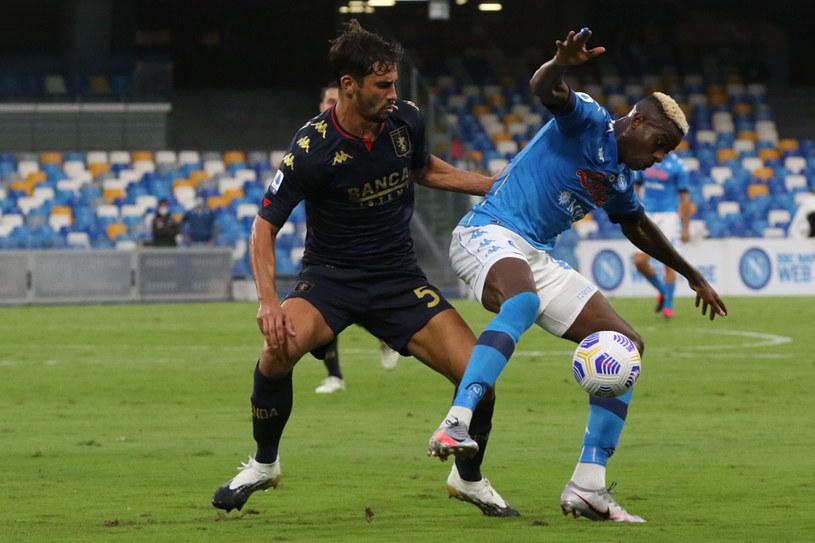 W 2. kolejce Serie A Genoa przegrała wysoko z Napoli 0-6 /PAP/EPA