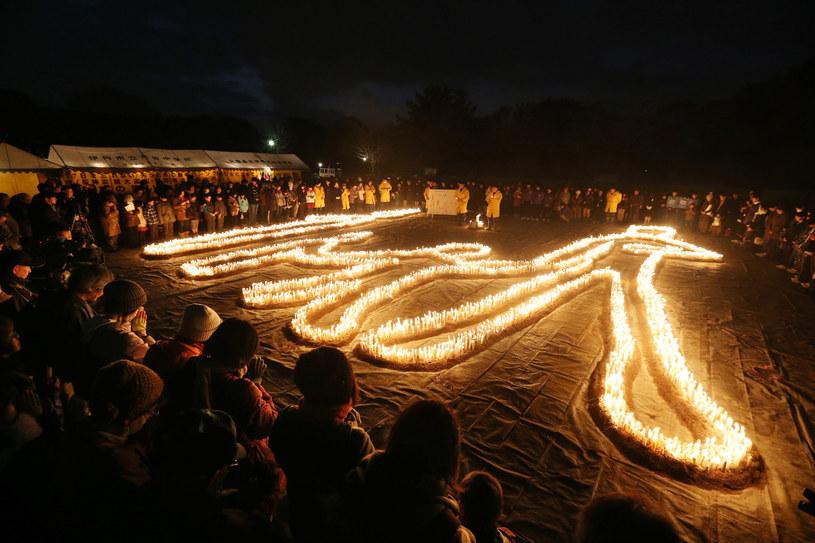 W 20. rocznicę trzęsienia ziemi Kobe składa hołd zabitym /AFP