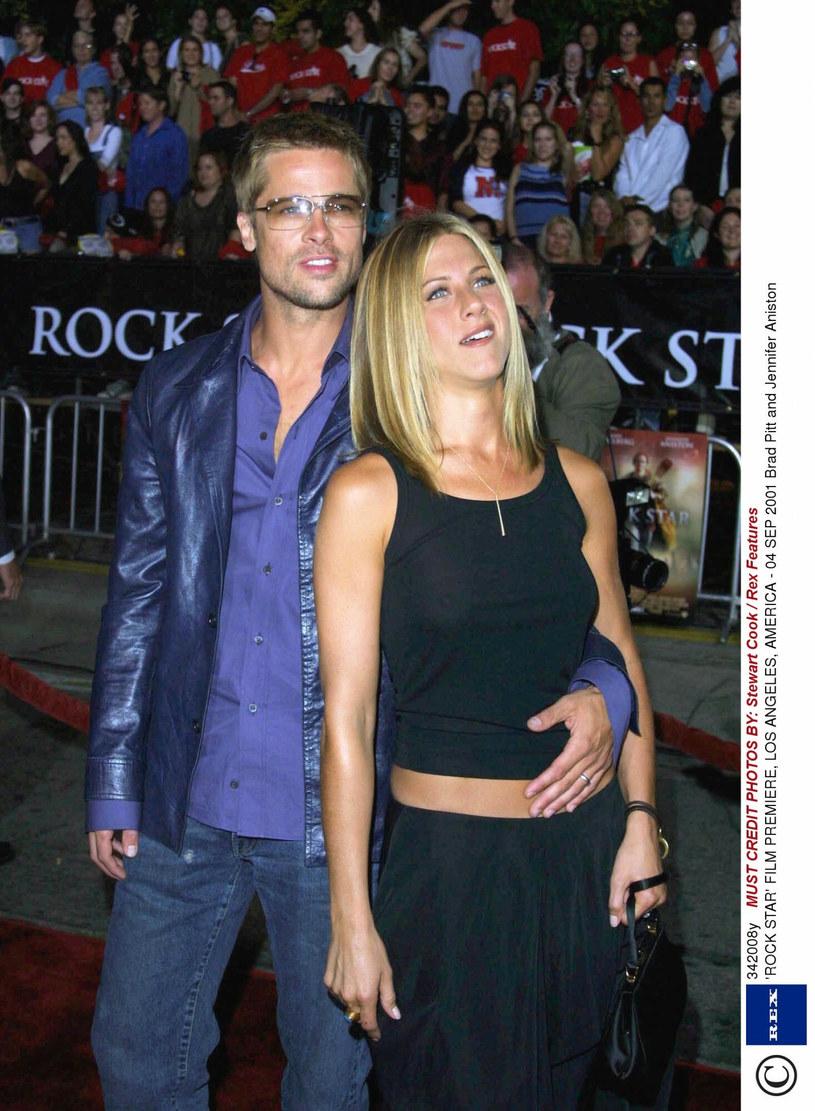 W 2001 roku aktorka wyszła za mąż za Brada Pitta /Stewart Cook /East News