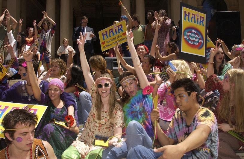 "W 2003 r. ""Hair"" w Sydney, fot. Patrick Riviere / Staff /Getty Images"