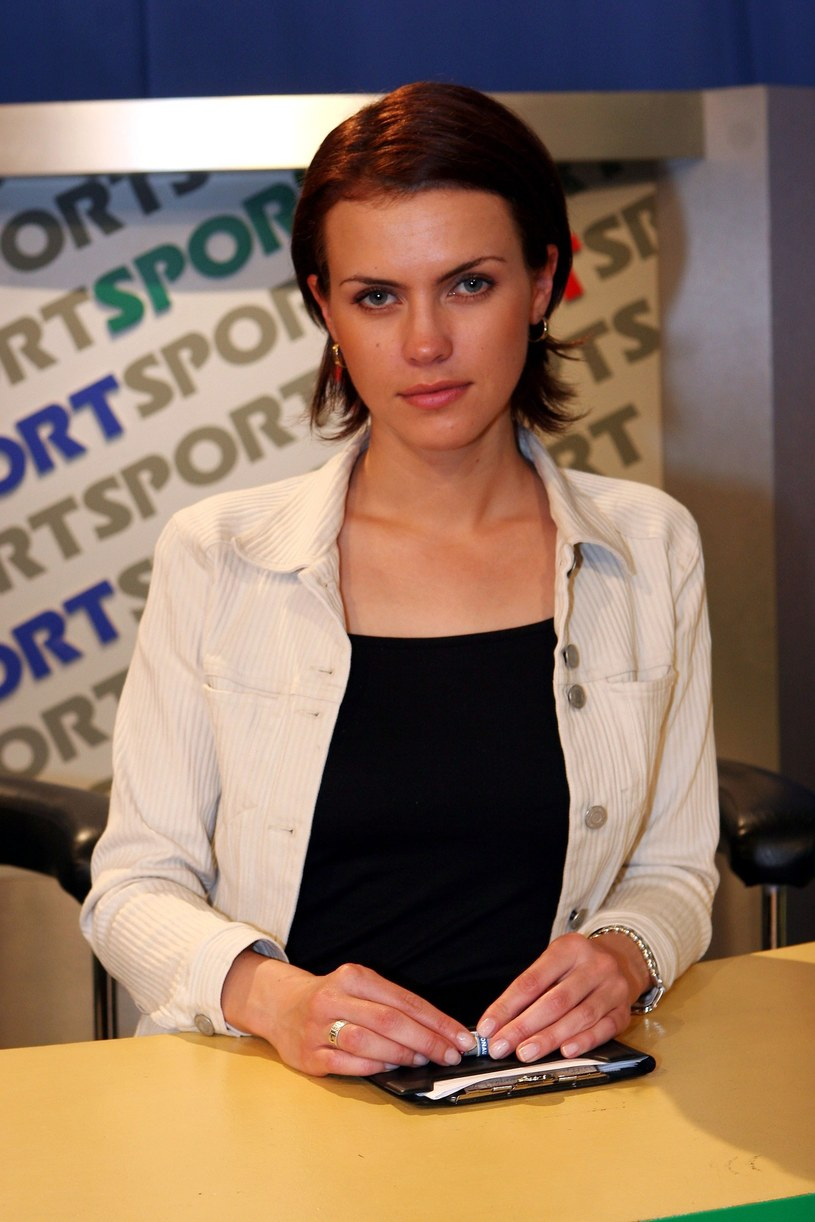 """W 2005 roku Sylwia Dekiert była jedną z prowadzących program TVP2 """"Sport telegram"""" /Piotr Fotek /Reporter"""