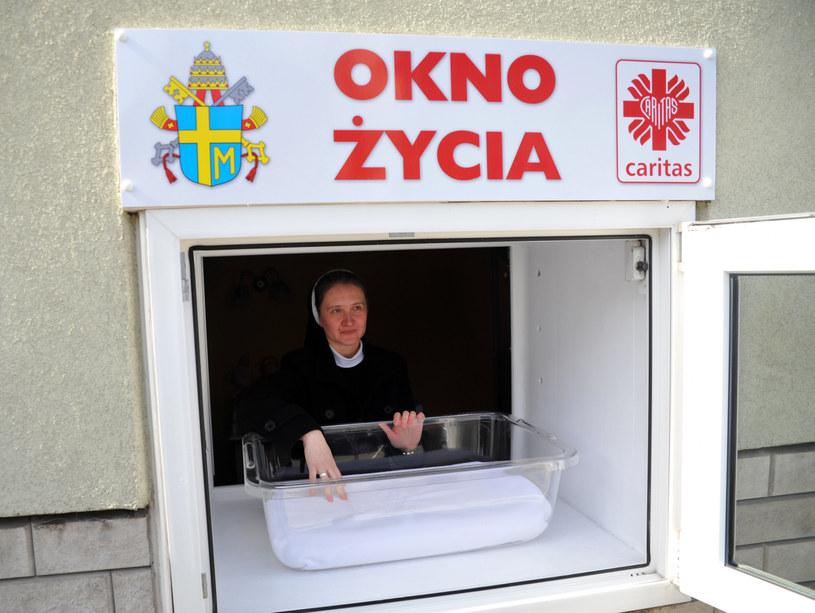 W 2006 roku w Krakowie przy ul. Przybyszewskiego otwarto pierwsze w Polsce okno życia /Marek Lasyk  /Reporter