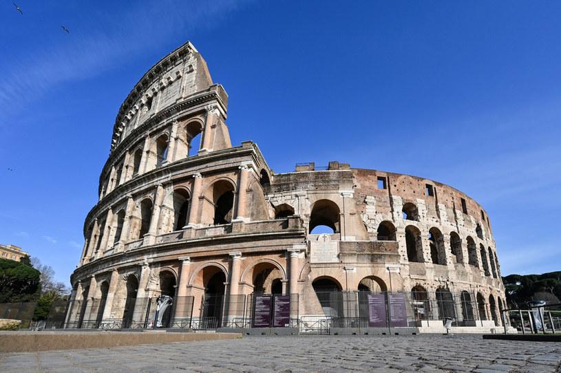 W 2007 r. Koloseum zostało ogłoszone jednym z siedmiu nowych cudów świata /ALBERTO PIZZOLI /AFP