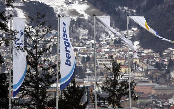 W 2008 roku wiatr pokrzyżował szyki organizatorom konkursu w Innsbrucku /AFP