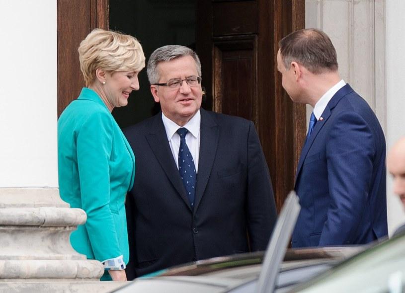 W 2009 r. gospodarzem spalskich dożynek był Lech Kaczyński, w kolejnych latach – Bronisław Komorowski. Andrzej Duda jako prezydent wziął w nich udział po raz pierwszy w 2015 roku /Rafal Oleksiewicz/REPORTER /East News