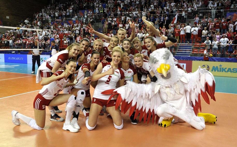 W 2009 roku w Łodzi polskie siatkarki zdobyły brązowy medal mistrzostw Europy /PZPS /