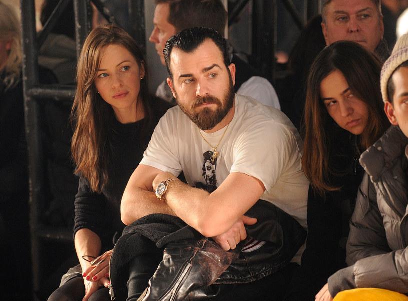 W 2011 r. Justin rzucił po 14 latach związku Heidi Bivens i odszedł do Aniston /Dimitrios Kambouris /Getty Images
