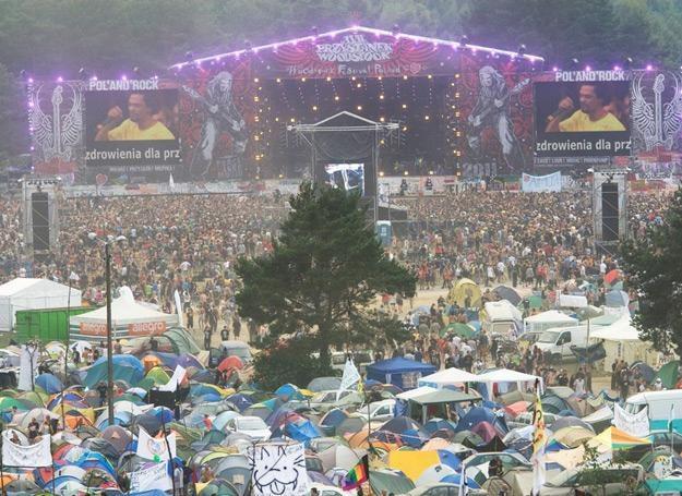 W 2011 roku na Przystanku Woodstock bawiło się ok. 700 tysięcy ludzi - fot. Michał Dyjuk /Reporter
